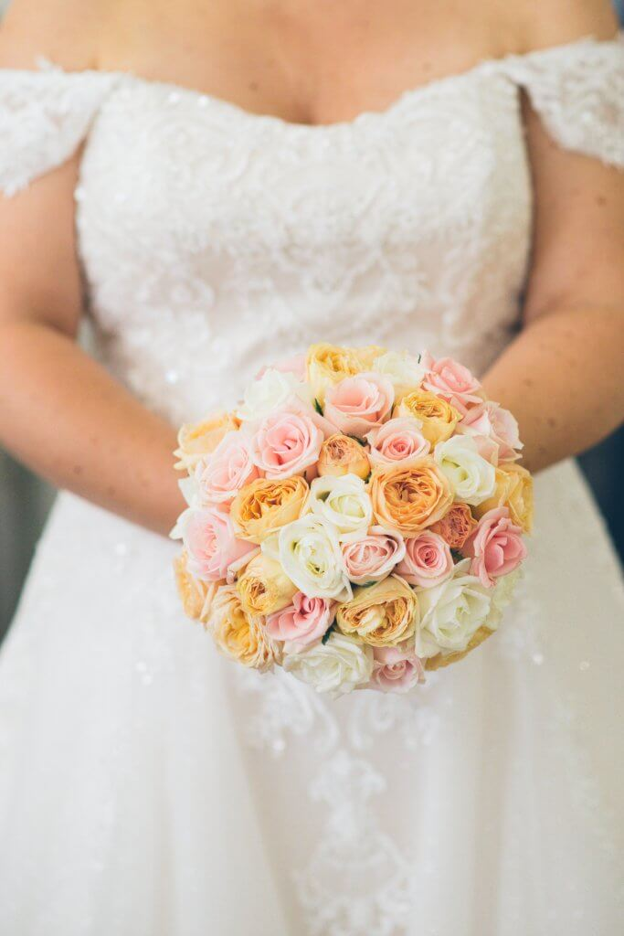 wedding bridal bouquet for Brisbane brides